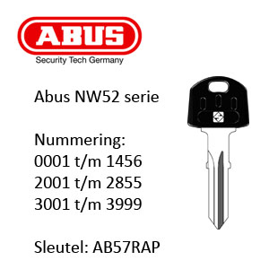 Abus NW52 serie