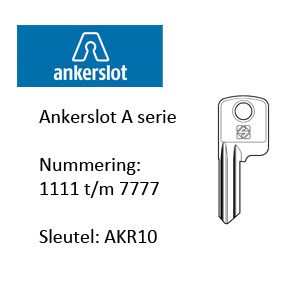 Ankerslot A serie